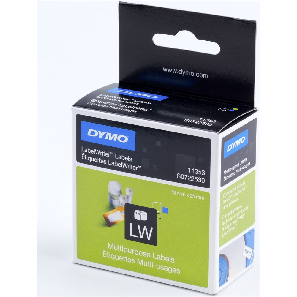 Dymo s0722530 11353 dymo express best uk prices for Dymo label stickers