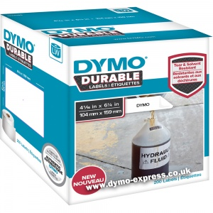 Dymo DURABLE LabelWriter 1933086 Extra Large Shipping Labels (4XL Printers Only)