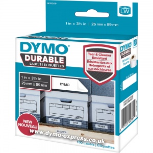 Dymo DURABLE LabelWriter 1976200 Shelving Labels STARTER (100 labels)