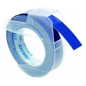 Dymo S0898140 White On Blue Embossing - 9mm