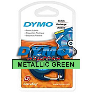 Dymo 91209 Metallic Green LetraTAG Tape -  DISCONTINUED