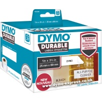 Dymo DURABLE LabelWriter 1933081 Shelving Labels BULK (700 labels)