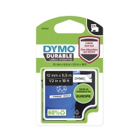 Dymo D1 DURABLE 1978364 Black on White - 12mm