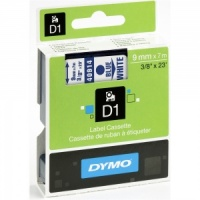 Dymo 40914 Blue On White - 9mm