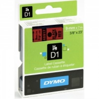 Dymo 40917 Black On Red - 9mm