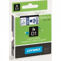Dymo 45014 Blue On White - 12mm