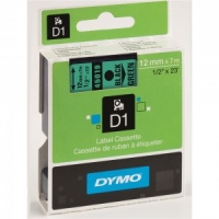 Dymo 45019 Black On Green - 12mm
