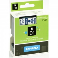 Dymo 53714 Blue On White - 24mm - DISCONTINUED
