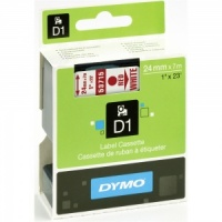 Dymo 53715 Red On White - 24mm - Discontinued