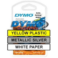 Dymo 91240 LetraTAG Tape Starter Pack